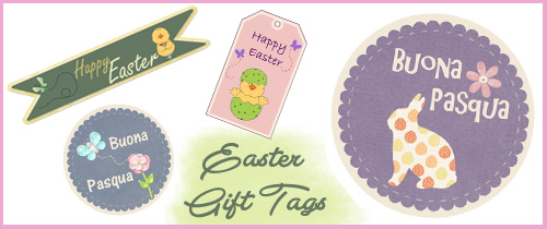 easter tags printable