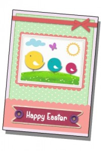 Happy Easter Card Il murrillo