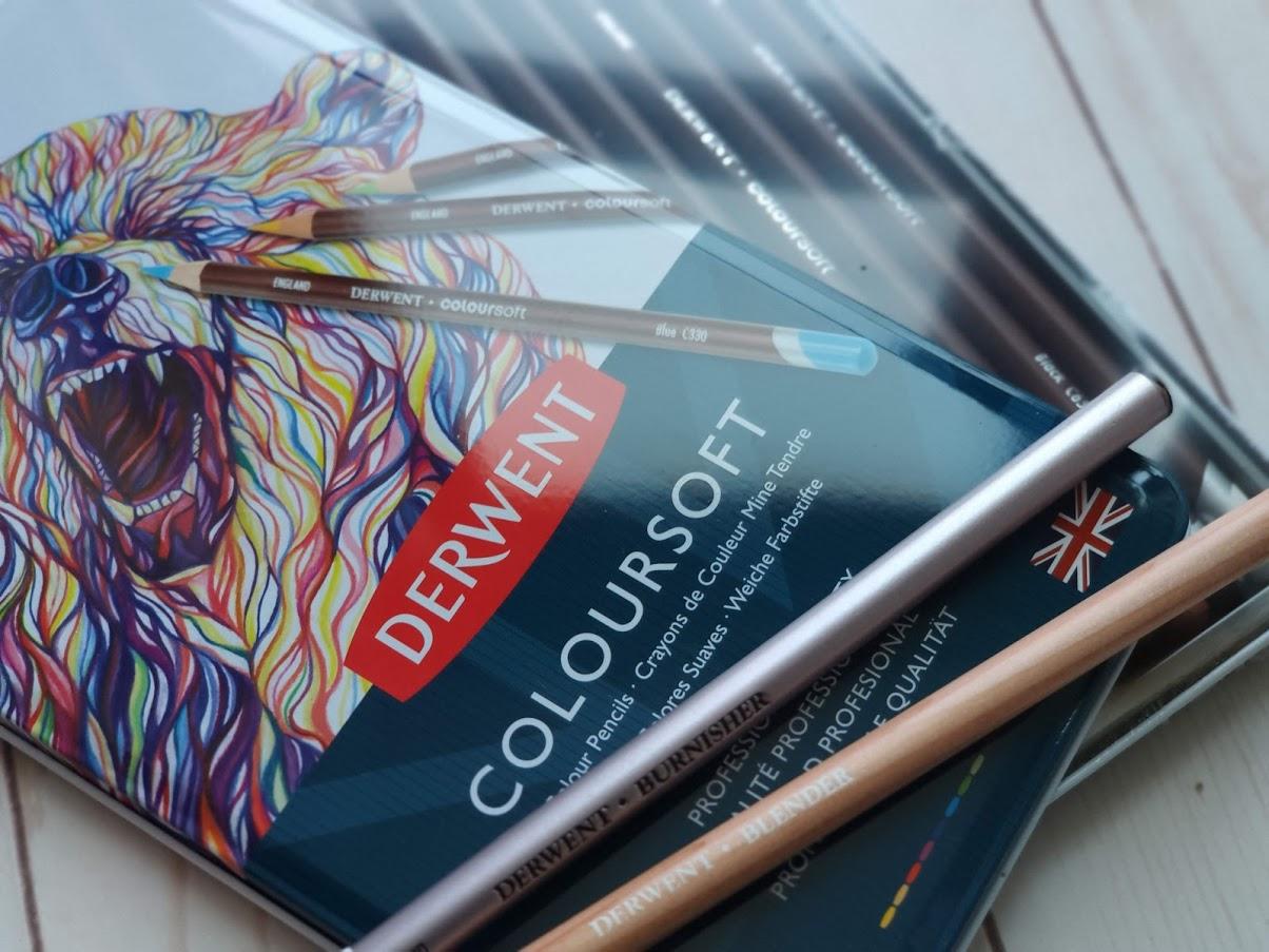 Coloriamo con le nuove matite Derwent Coloursoft