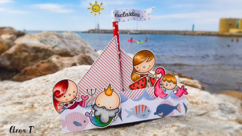 Barchetta Origami Summer Time